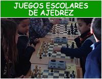 Juegos escolares de ajedrez