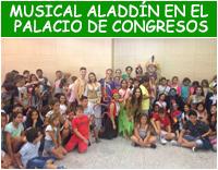 musical Aladdín en el Palacio de Congresos