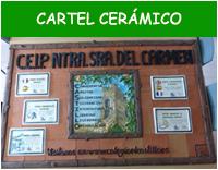 Cartel cerámico