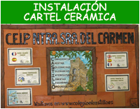 Instalación cartel cerámico