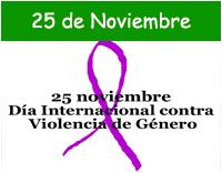 Día Internacional para la Eliminación de la violencia hacia la Mujer