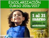Escolarización 2016-2017