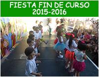 Fiesta fin de curso 2015-2016