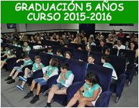 Graduación 5 años - Curso 2015-2016