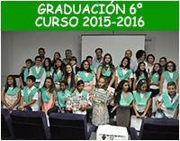 Graduación 6º - Curso 2015-2016