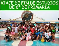 VIAJE DE FIN DE ESTUDIOS DE 6º DE PRIMARIA