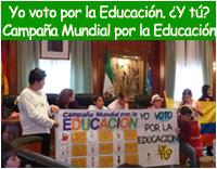 Yo voto por la educación ¿Y tú?