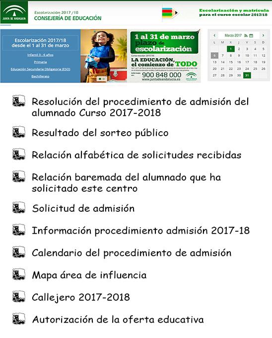 Escolarización 2014-1015