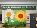 Mural contra la violencia de género